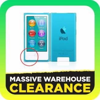 Apple iPod Nano 7th Generation 16GB Slight Crack
