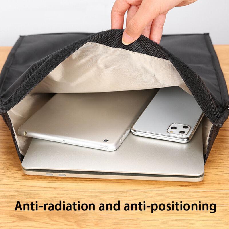 EMF Protection Electronic Equipment Oxford Cloth Signal Blocking Faraday Bag US