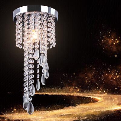 Modern Mini Crystal Chandelier Flush Mount Ceiling Light Chandelier Lighting Modern Crystal Flush
