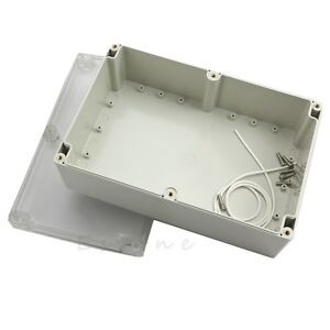Waterproof Clear Plastic Electronic Project Box Enclosure CASE 230x150x85mm