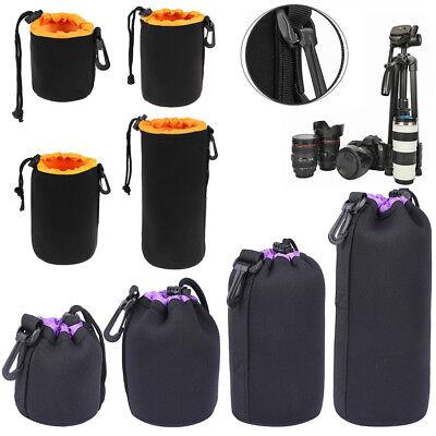 S-XL Waterproof Neoprene Lens Pouch Bag Protective Case for Digital SLR Camera (Neoprene Lens Case)