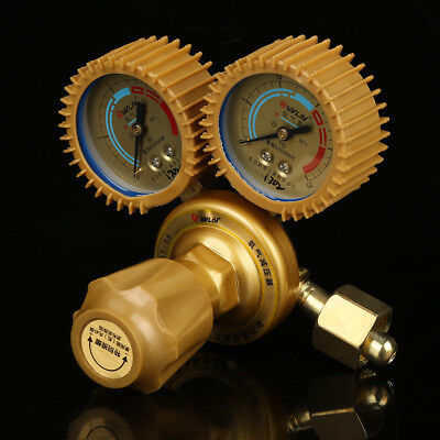 Oxygen Gas Regulator Welding Cutting Torch Pressure Gauge Fits Brass Usa