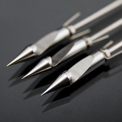 6Pcs Stainless Steel Arrowhead Slingshot Catapult Dart Hunting Shooting Fish
