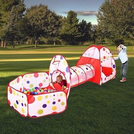 Children's Play Tent Tunnel