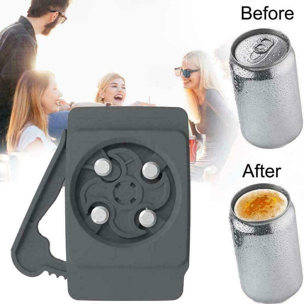 Go Swing Topless Can Opener Bar Tool Safety Manual Beer Can