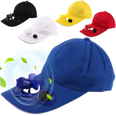 Summer Unisex Outdoor Sports Baseball Caps Hat with Solar Power Cooling Fan Call - Cool Baseball Caps
