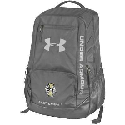 Idaho Vandals Under Armour Hustle Backpack - Grey