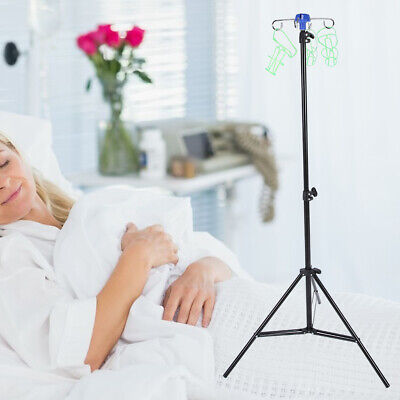 New Portable Iv Pole Drip Bag Stand Foldable Pole Stand For Clinic Home Care