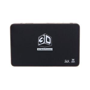 2D to 3D Converter 2x1 HDMI 1280*720 Video For 120Hz 3D HD Ready DLP Projector