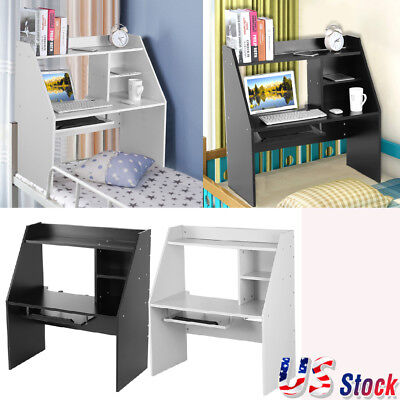 Floating Wall Mounted Desk Home Office Computer Table Bedroom Furniture Storage