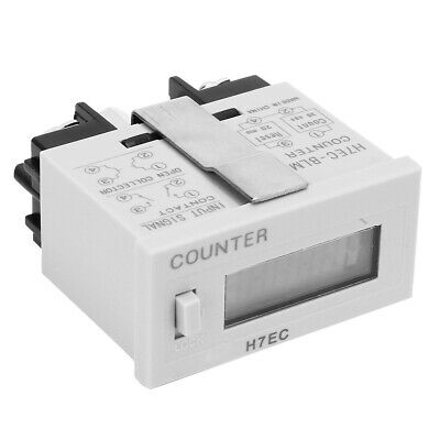 Digital Electrical Counter Totalizer Without Voltage Input W6-digit Lcd Display