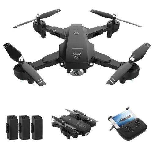 Drone With Wifi FPV 1080P HD 4K Camera Foldable 4CH RC Quadcopter 3D Tumbling