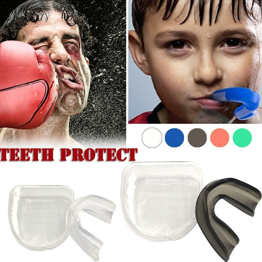 Adult Mouthguard Mouth Guard Teeth Protector Boxing Football