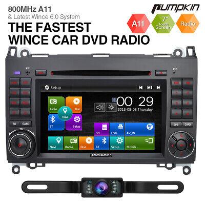 """Kamera+7"""" Autoradio Für Mercedes Benz Sprinter W906 GPS DVD Navigation Bluetooth"""