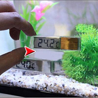 LCD 3D Digital Electronic Measurement Fish Tank Aquarium Thermometer Temperature