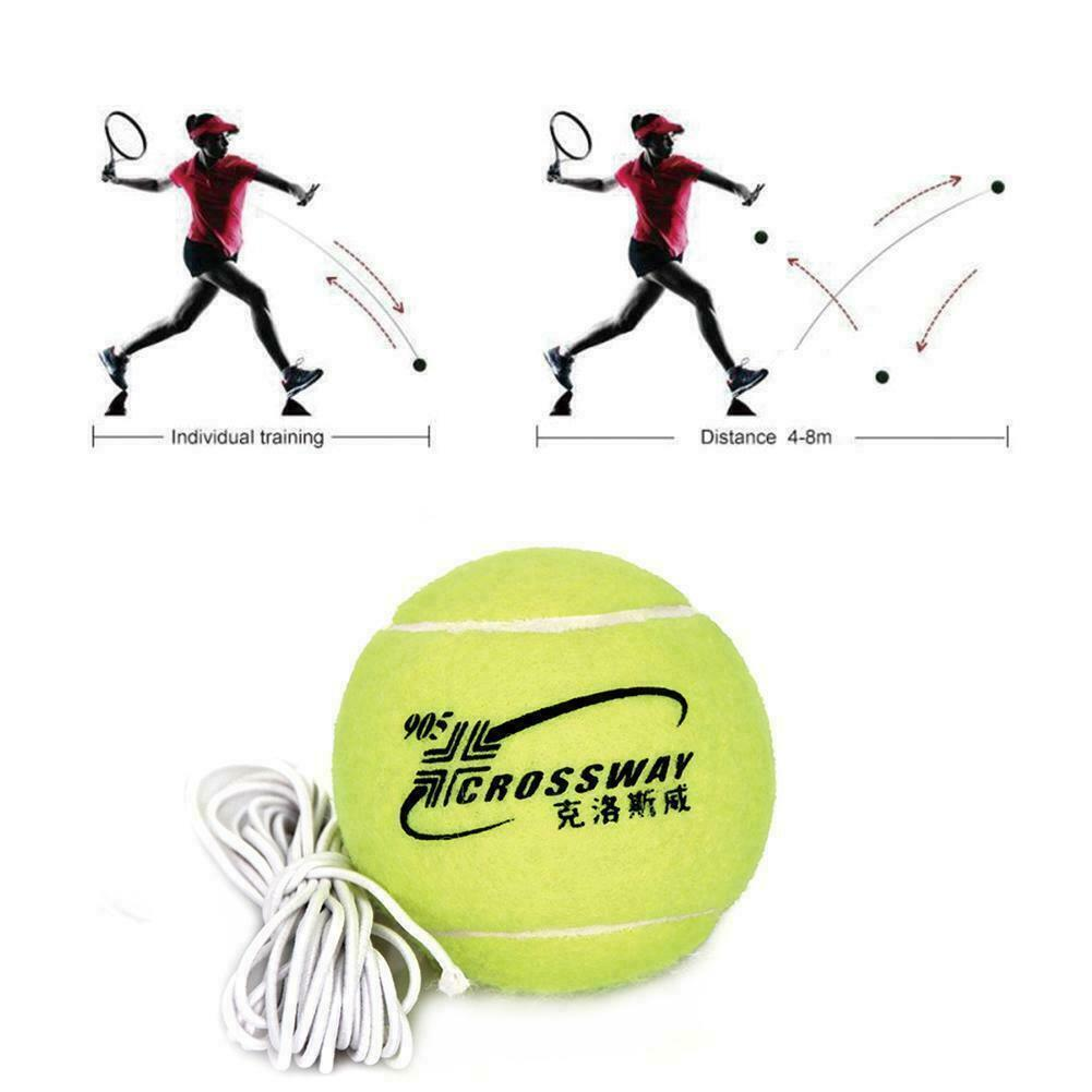 Tennis Training Tool Exercise Rebound Ball Trainer Baseboard