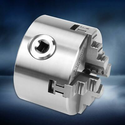 3inch K12-80 Lathe Chuck 80mm 4 Jaw Self Centering Metal Manual Reversible Tool