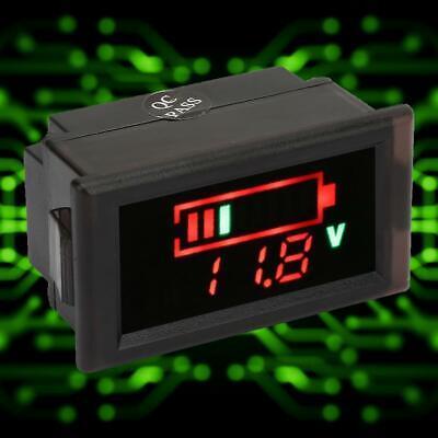 LED voltimetro eléctrico Medidor de voltaje Indicador bateria Motocicleta coche