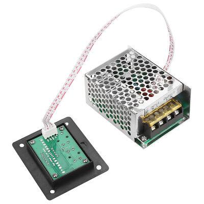 4000w Scr Digital Voltage Regulator Speed Control Dimmer Thermostat Ac 220v Us