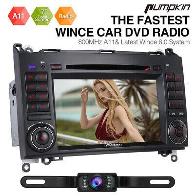 Pumpkin Autoradio GPS Navi Für Mercedes Benz A/B Klasse Sprinter Viano Vito W639