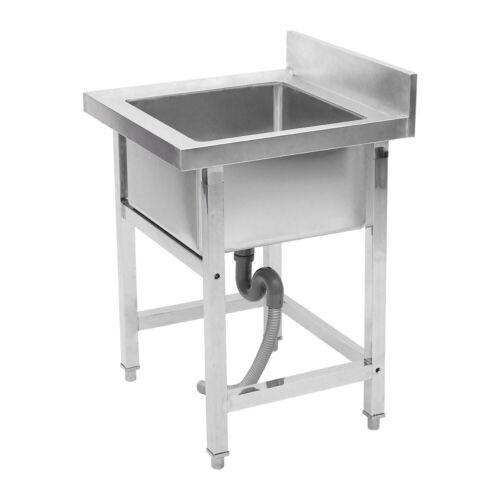 Gastrospüle Edelstahl Gastro Waschbecken Handwaschbecken Spülbecken Spültisch DE