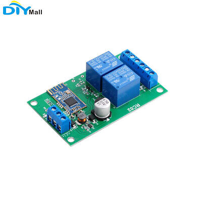 2 Channel Relay Module Bluetooth 4.1ble For Apple Android Phone Iot