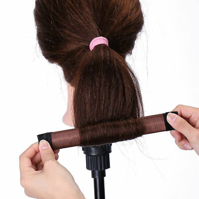 Magic Hair Bun Snap Women Girl Snap Styling Donut Twist Band Maker Donut Formerx, used for sale  China