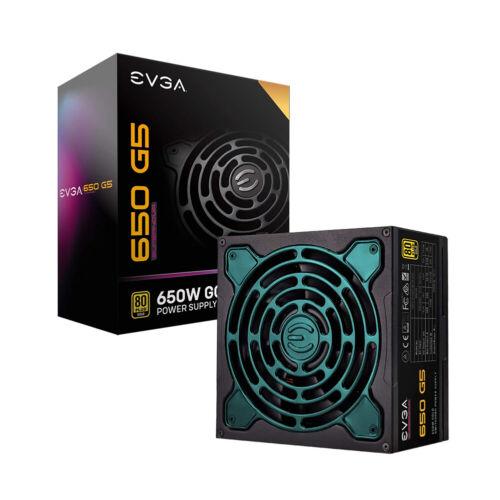 EVGA 220-G5-0650-X1 Supernova 650 G5 80Plus Gold 650W Fully Modular Power Supply