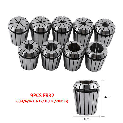Er32 Spring Collet Set For Cnc Engraving Machine And Milling Lathe Tool 2-20mm
