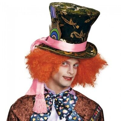 Disney Alice Through The Looking Glass Mad Hatter Hat Adult Costume Accessory](Pink Mad Hatter Hat)