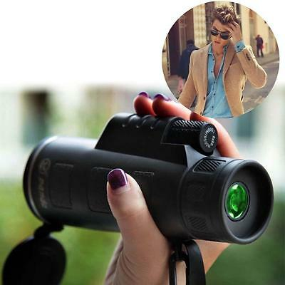 PANDA HandHeld 10X60 Night Vision Adjustable Monocular CampTravel Telescope FF