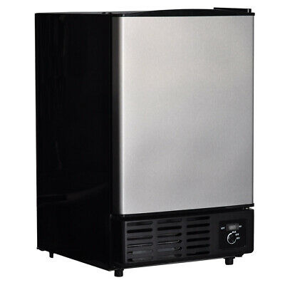 Smad Commercial Ice Maker Machine Stainless Steel Bar Restaurant Ice Cube