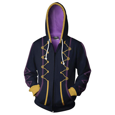 Fire Emblem Robin Cosplay Costume 3D Printed Sweatshirt Hoodie Jacket Coat](Robin Cosplay Costume)