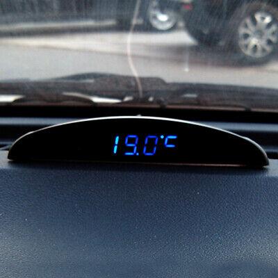 12V Digital LED Alarm Auto Electronic Clock Car Voltmeter Thermometer Calendar