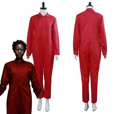 2019 Us Adelaide Wilson Zora Wilson Cosplay Costume Red Jumpsuit Halloween - Adelaide Halloween Costumes