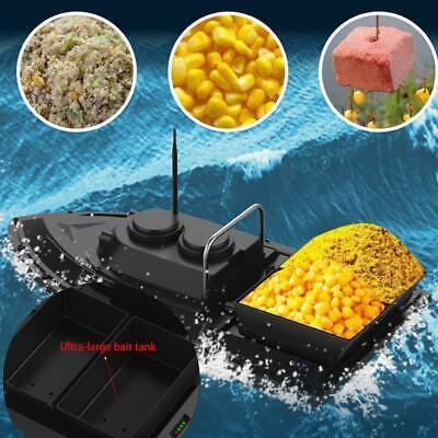 500M Barco de cebo de pesca control remoto inalámbrico Lancha rápida Buscador...