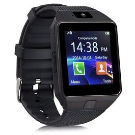 Smartwatch. Mobile phone. Android. Fitness Pedometer. New. Bluetooth. Camera. Sleep monitor.