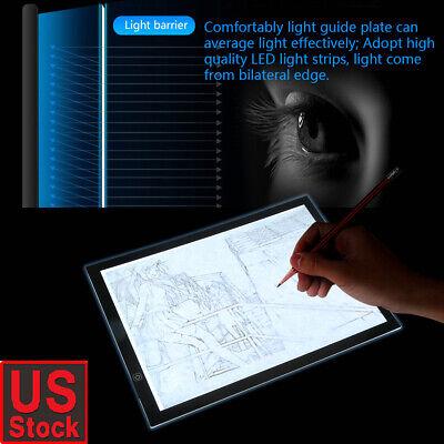 A3 USB LED Artist Tattoo Stencil Board Light Box Tracing Drawing Board Pad Table