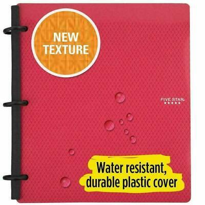 Lot 2 Five Star Flex Hybrid Notebinder 1 Inch Binder Notebook-all-in-one