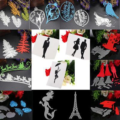 250Type Metal Cutting Dies Stencil Scrapbook Paper Cards Craft Embossing Die-Cut