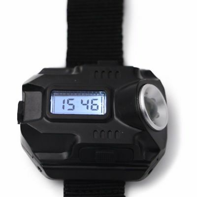 Ultra Bright Flashlight Rechargeable LED Tactical Watch Lighting Lamp +USB Cable
