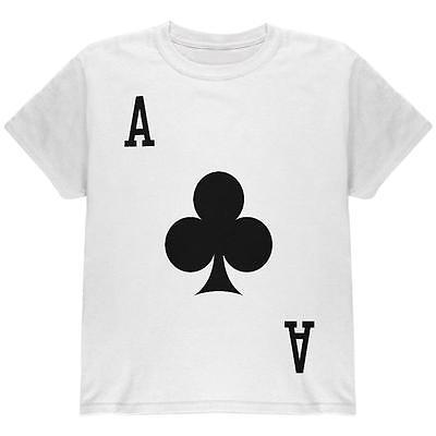 Halloween Ace of Clubs Card Soldier Costume All Over Youth T Shirt](Ace Of Clubs Halloween Costume)