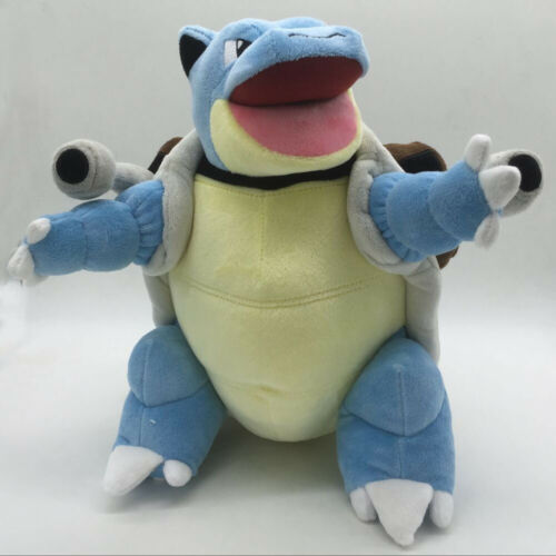 Pok/émon Blastoise Plush Stuffed Animal Age 2+ Large 12