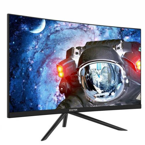 "VIOTEK GN27DB 27"" Gaming Curved Monitor 144Hz 1440p FPS/RTS Optimized VA Panel"