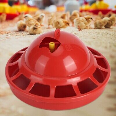 Automatic Watering Bowl Cage Poultry Drinker Waterer Chicken Duck Quail Pigeon