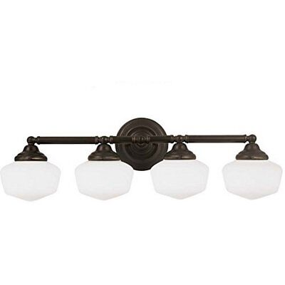 (Sea Gull Lighting Academy Collection 4-Light Wall / Bath Heirloom Bronze)