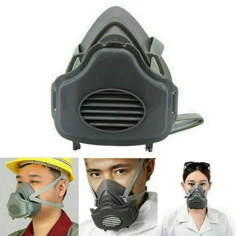 Safe Mask Respirator Half Face Painting Spraying Facepiece With Filter Protected