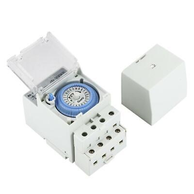 Sul-181h Mechanical Timer 24h Time Switch Relay Electrical Programmable