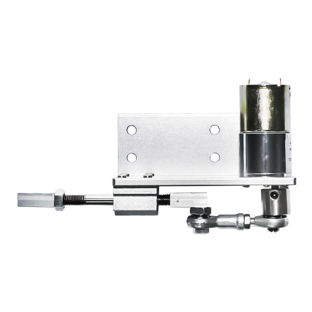 DC 12//24V Adjustable 5~1000 rpm Linear Actuator Reciprocating Gearbox Motor