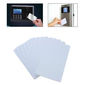 10pcs Blank Identification for Plastic Printing PVC Photo White Credit Card.Pro